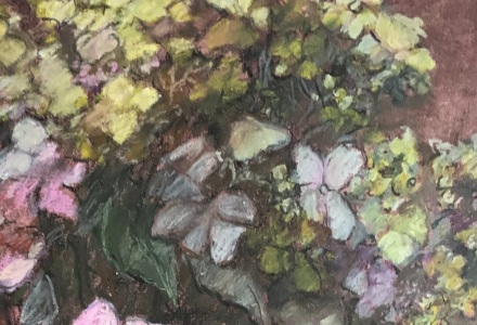 Hydrangea Bouquet, detail